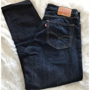 Men's Levi's Dark Wash Jeans